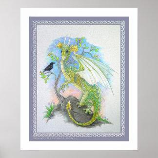 Dragon & the Raven Poster