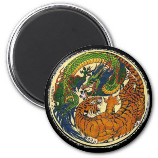 DRAGON TIGER MAGNET