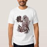 Dragon Tiger with kanji Tshirt