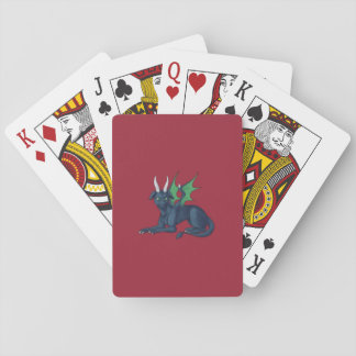 Dragon to Play With Deck Of Cards