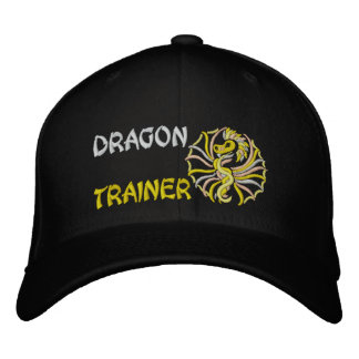 Dragon trainer embroidered cap