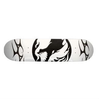 dragon tribal custom skateboard