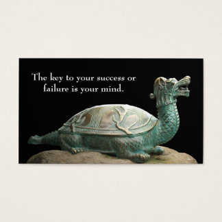 Dragon turtle bookmark business card