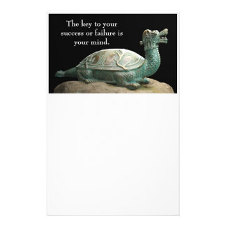 Dragon turtle stationery