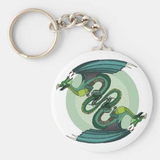 Dragon Twist Keychain