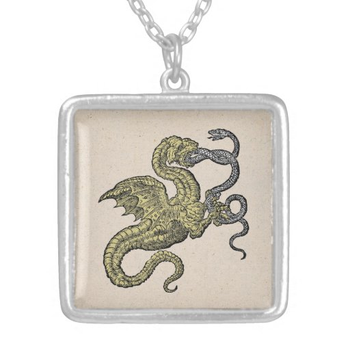 Dragon vs Snake Necklaces