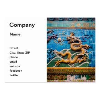 Dragon Wall Pack Of Chubby Business Cards