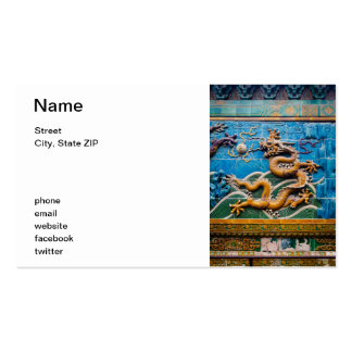 Dragon Wall Pack Of Standard Business Cards