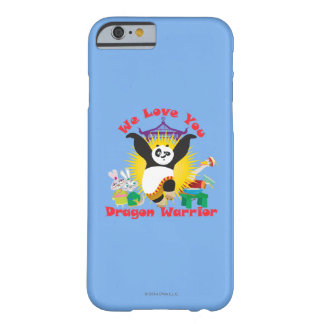 Dragon Warrior Love Barely There iPhone 6 Case