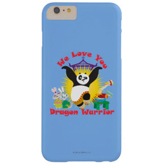 Dragon Warrior Love Barely There iPhone 6 Plus Case