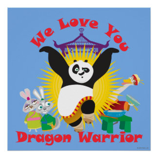 Dragon Warrior Love Poster