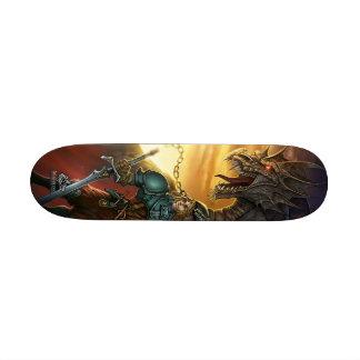 Dragon & warrior skate decks