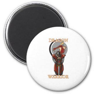 Dragon Warror 6 Cm Round Magnet