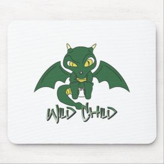 dragon WC green Mousepads