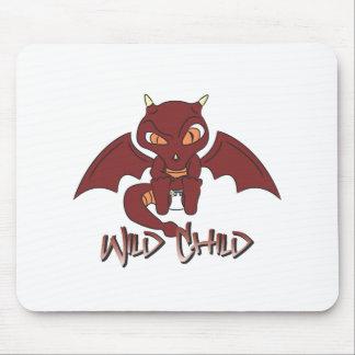 dragon WC red Mousepad