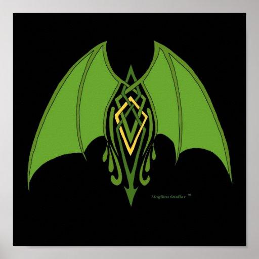 Dragon Wings Print