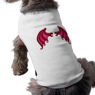 Dragon wings sleeveless dog shirt