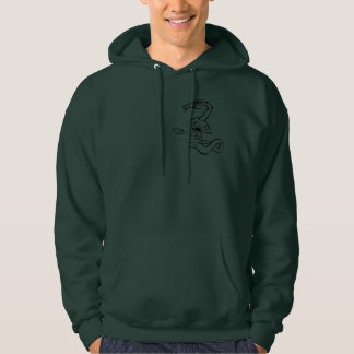 Dragon with Atabaque drum Hoodie
