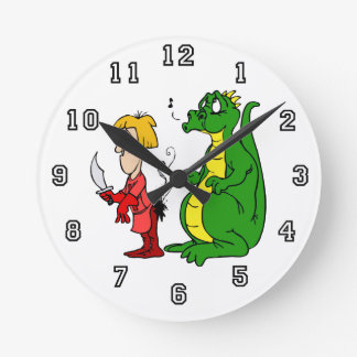 Dragon with Burnt Knight.png Clocks