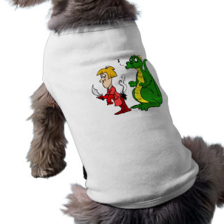 Dragon with Burnt Knight png Dog Clothing