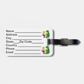 Dragon with Burnt Knight.png Luggage Tag