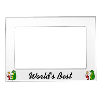 Dragon with Burnt Knight.png Magnetic Frame