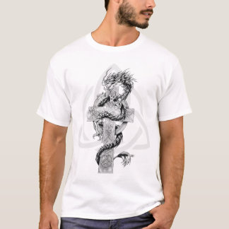 Dragon with Celtic symbol T-Shirt