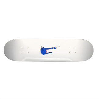 Dragon with Dentures Skateboard Deck