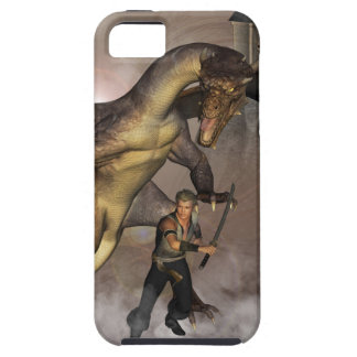 Dragon with his companion 1 iPhone 5 case