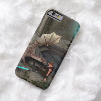Dragon with his companion barely there iPhone 6 case