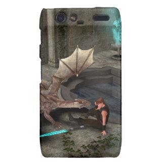 Dragon with his companion droid RAZR covers