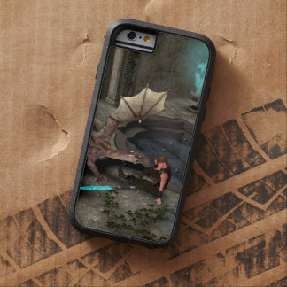Dragon with his companion tough xtreme iPhone 6 case