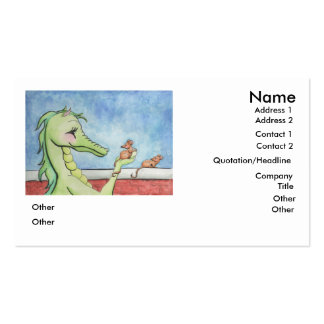 Dragon with Mice Pack Of Standard Business Cards