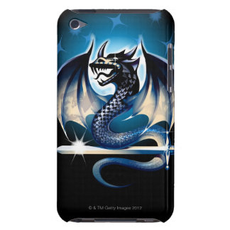 Dragon with sword iPod touch Case-Mate case