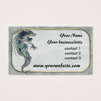 Dragon Wolf Business Card