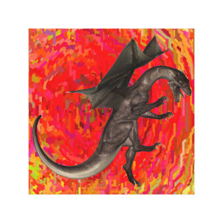 Dragon Wrapped Canvas Gallery Wrap Canvas