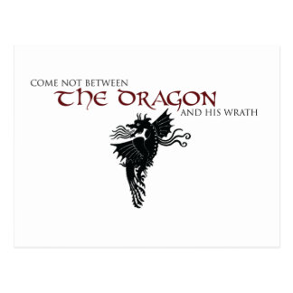 Dragon Wrath Postcard