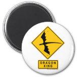 Dragon XING 6 Cm Round Magnet