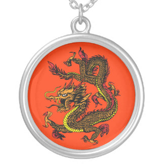 Dragon Year 2012 Inspiration Chinese art Personalized Necklace