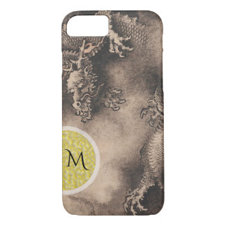 Dragon Year Chinese Zodiac sign Monogram Iphone C iPhone 8/7 Case