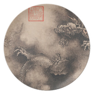 Dragon Year Chinese Zodiac sign Plate