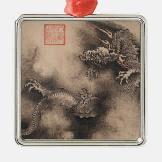 Dragon Year Chinese Zodiac sign Square Ornament