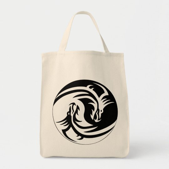 Dragon Yin Yang Bag