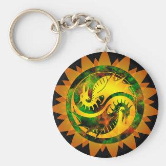 Dragon Yin Yang Keychains