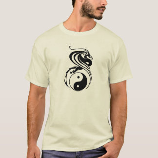 Dragon ying yang shirt
