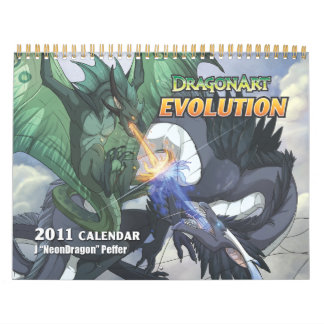 DragonArt Evolution Calendar