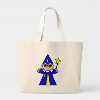 DragonCats LIL Critters Wizard Jumbo Tote Bag