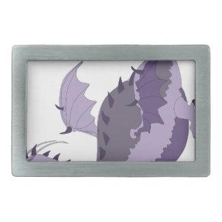 dragoncolour rectangular belt buckle