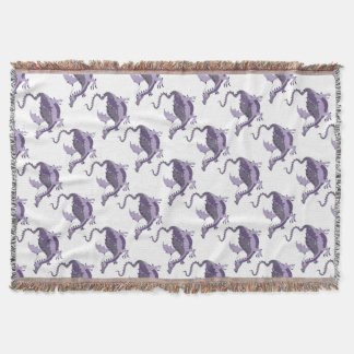 dragoncolour throw blanket