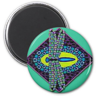 Dragonfies /Dragonfly 6 Cm Round Magnet